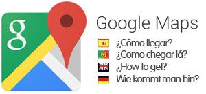 google maps logo como llegar